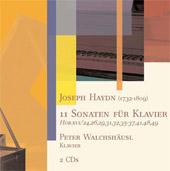 Joseph Haydn: 11 Sonaten für Klavier