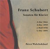 Franz Schubert: Sonaten für Klavier